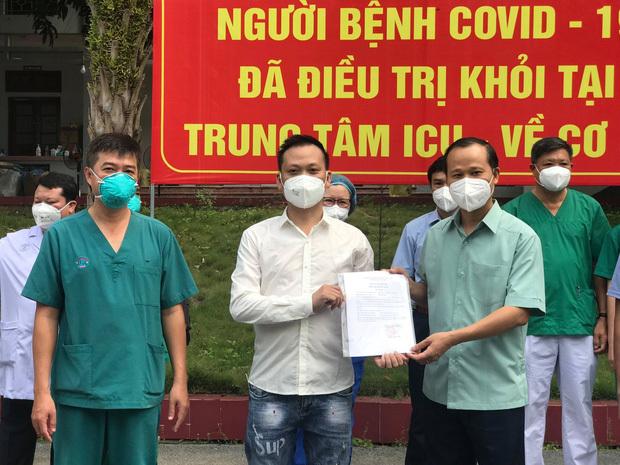 """2 ca Covid-19 trẻ tuổi, diễn biến nặng đầu tiên tại Bắc Giang khỏi bệnh: """"Tưởng như tuyệt vọng, nhưng các bác sĩ đã không bỏ rơi tôi"""""""