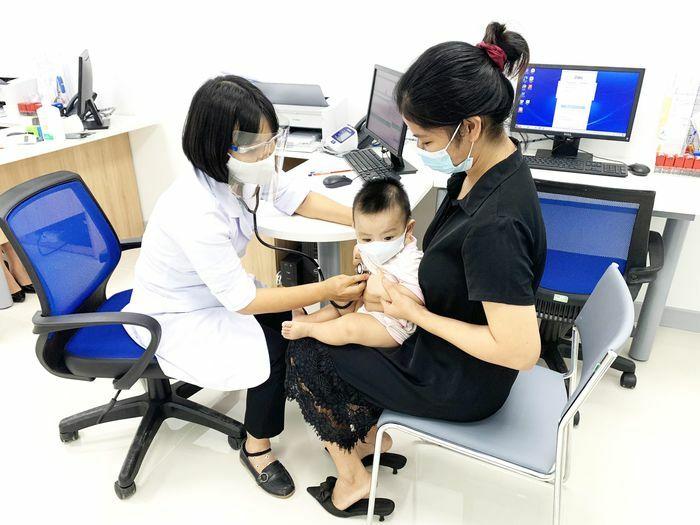 Trung tâm Tiêm chủng vaccine cho Trẻ em và Người lớn Bình Phước đi vào hoạt động - ảnh 1