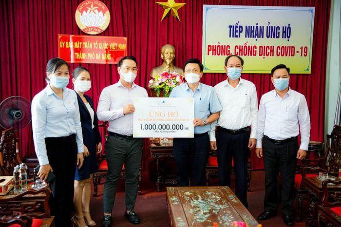 Đất Xanh Miền Trung: 3 tỷ đồng tặng Quỹ vaccine phòng chống COVID-19 - ảnh 1