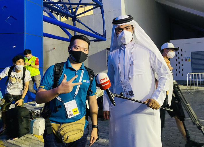 Phóng viên UAE khen ngợi tuyển Việt Nam