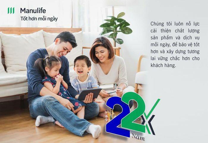 Manulife Việt Nam kỷ niệm 22 năm thành lập - ảnh 1