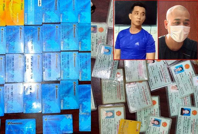 """Phát hiện 68 thẻ ATM và 40 CMND trong nhà kẻ cho vay """"tín dụng đen"""" - ảnh 1"""