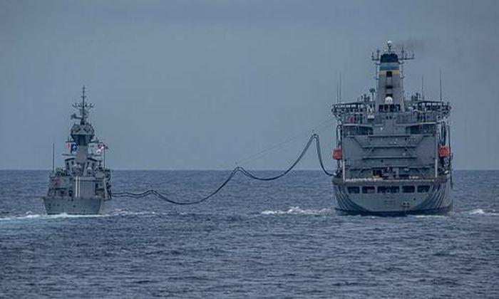 Hải quân Mỹ - Australia tập trận bắn đạn thật ở Biển Đông - ảnh 1