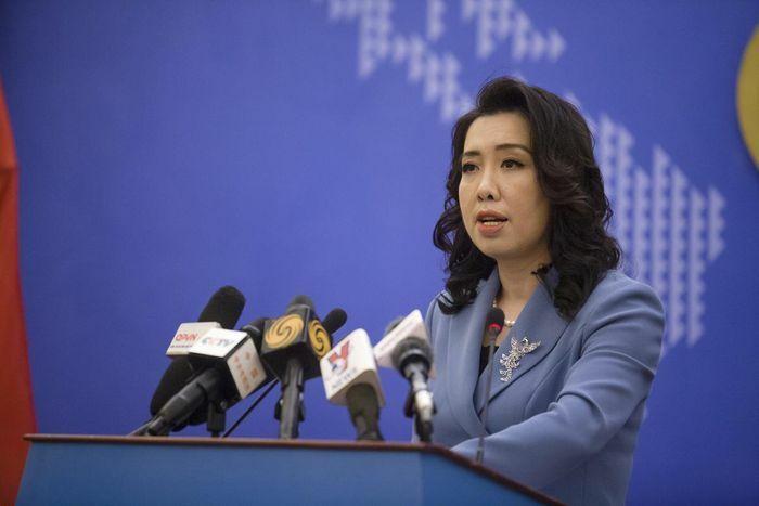 Việt Nam kiên quyết phản đối, yêu cầu Đài Loan hủy bỏ tập trận trái phép ở đảo Ba Bình - ảnh 1