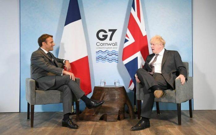 Bên lề G7: Pháp hứa ''làm mới quan hệ'' nếu Anh tuân thủ thỏa thuận Brexit - ảnh 1