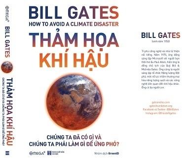 Tỷ phú Bill Gates ra sách về chủ đề biến đổi khí hậu - ảnh 1