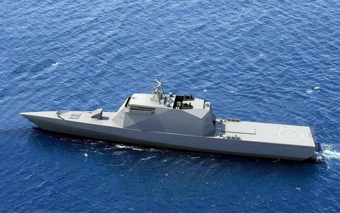 Công nghệ tàng hình giúp tàu hộ tống hàng trăm mét chỉ lộ diện như 1 chiếc thuyền nhỏ - ảnh 1