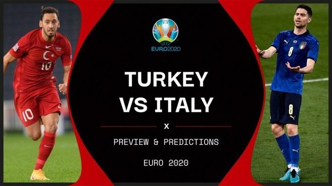 Italia 0-0 Thổ Nhĩ Kỳ (Hiệp 1): Khó cho đội bóng Thiên Thanh - ảnh 1