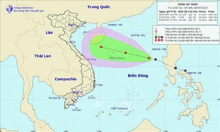 Chủ động ứng phó với áp thấp có khả năng mạnh hành áp thấp nhiệt đới - ảnh 1