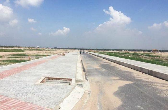 Đồng Nai: Khu tái định cư sân bay Long Thành mở rộng đường thành 6m - ảnh 1