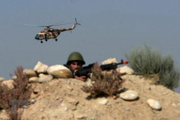 Trực thăng của quân đội Afghanistan gặp nạn, 3 người tử vong - ảnh 1