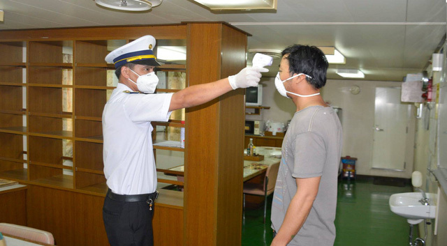 5 người trên tàu quốc tế cập cảng tại Long An dương tính SARS-CoV-2 - ảnh 1