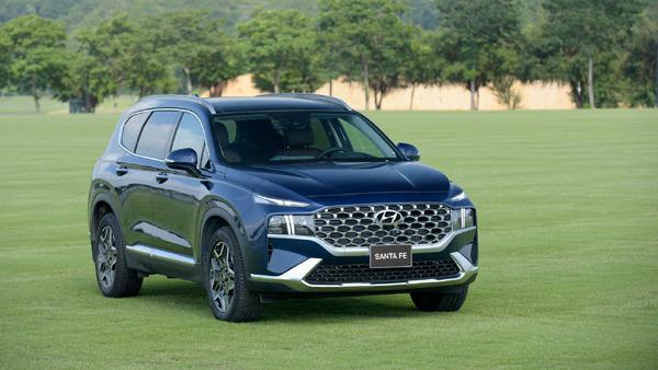 Ra mắt Hyundai SantaFe 2021, giá từ hơn 1 tỷ đồng - ảnh 1