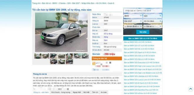 Ô tô hạng sang BMW 3 series nổi tiếng một thời tụt giá sâu, chưa tới 300 triệu đồng – có đáng để đầu tư? - ảnh 1