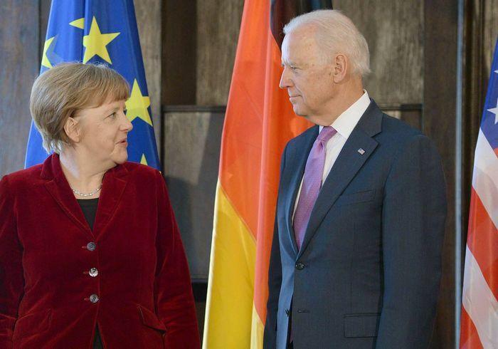 Bà Merkel là lãnh đạo đầu tiên ở châu Âu đến Nhà Trắng thời ông Biden - ảnh 1