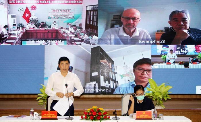 Xây dựng thành phố Hồng Ngự thành đô thị hậu cần, hạt nhân vùng kinh tế cửa khẩu - ảnh 1