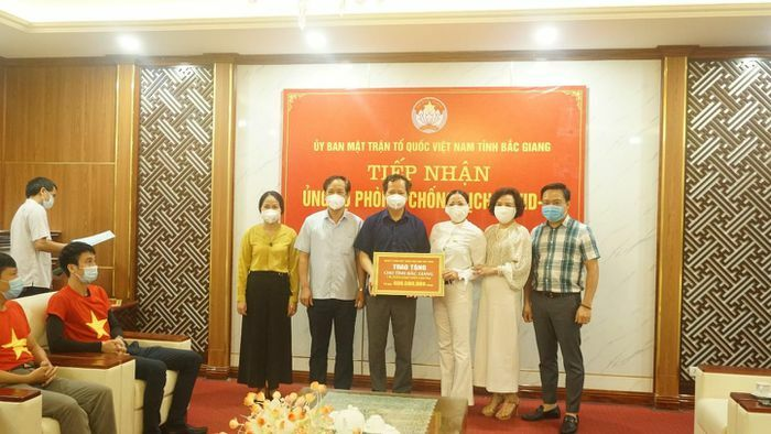 Tập đoàn An Dương và những người bạn chung tay cùng tỉnh Bắc Giang chống dịch - ảnh 1