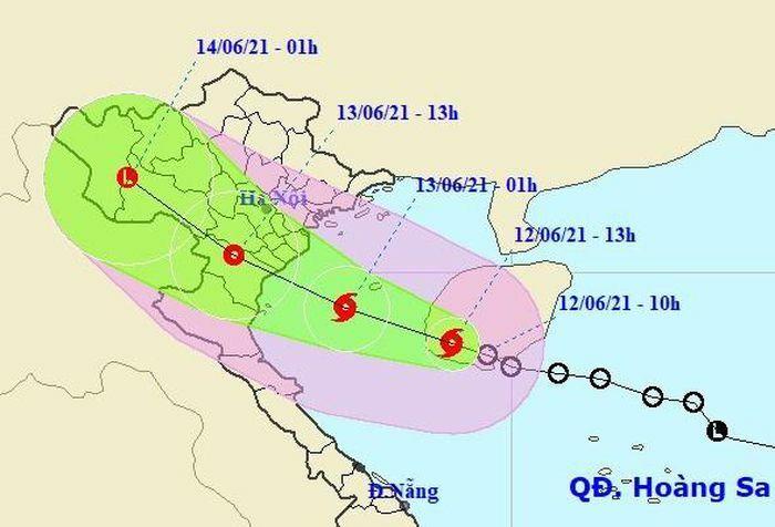 Áp thấp nhiệt đới đã mạnh lên thành bão số 2, Hà Nội ra công điện khẩn - ảnh 1