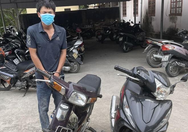 Mới ra tù lại gây ra hàng chục vụ trộm cắp xe máy