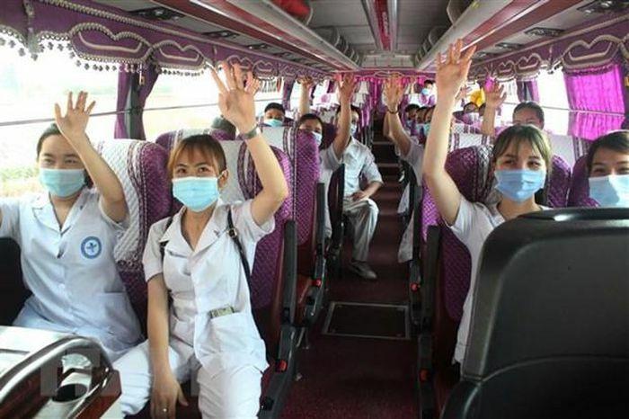 Phú Thọ và Quảng Ninh cử y, bác sỹ đến Bắc Giang hỗ trợ chống dịch