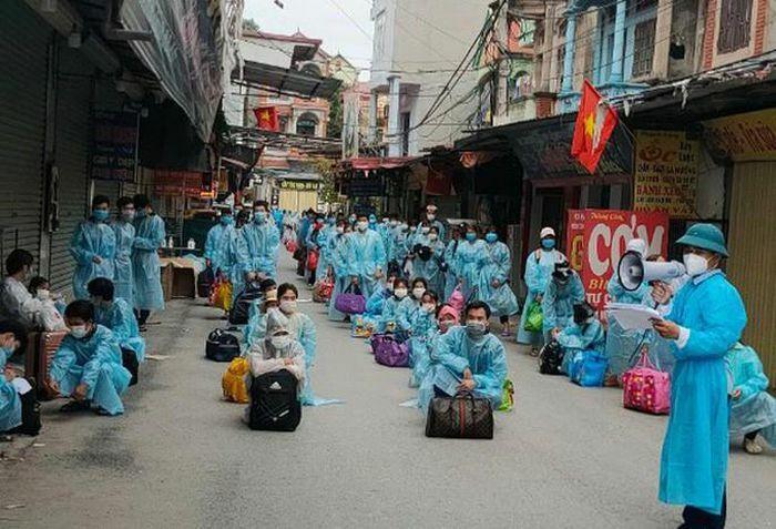 Hàng chục ngàn công nhân ở tâm dịch Bắc Giang sắp về các địa phương - ảnh 1