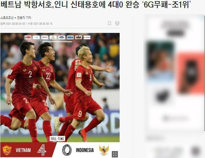 Báo Hàn Quốc phấn khích vì phép thuật của thầy Park, tin Việt Nam làm nên lịch sử - ảnh 1