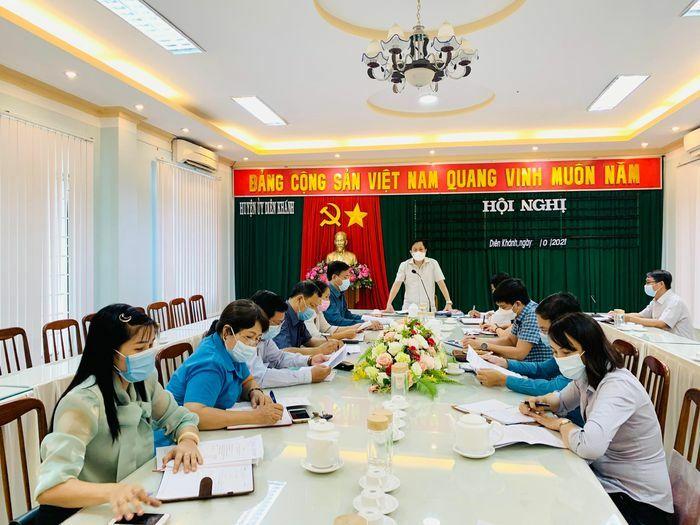 Diên Khánh cần tiếp tục đẩy mạnh công tác phát triển đảng, đoàn thể trong đơn vị kinh tế tư nhân - ảnh 1