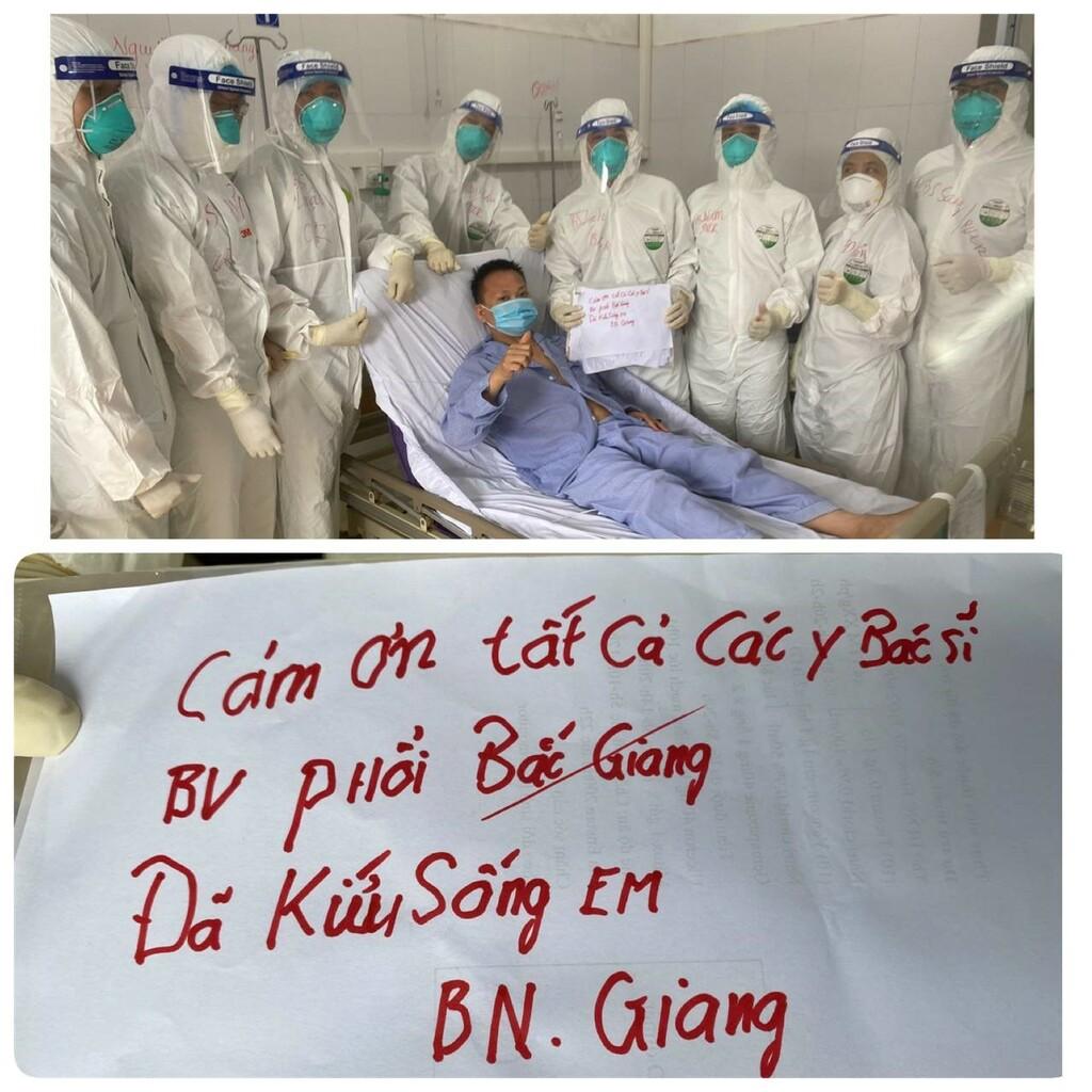 Nhiều ca COVID-19 phải đặt ECMO ở Bắc Giang sắp được xuất viện - ảnh 1
