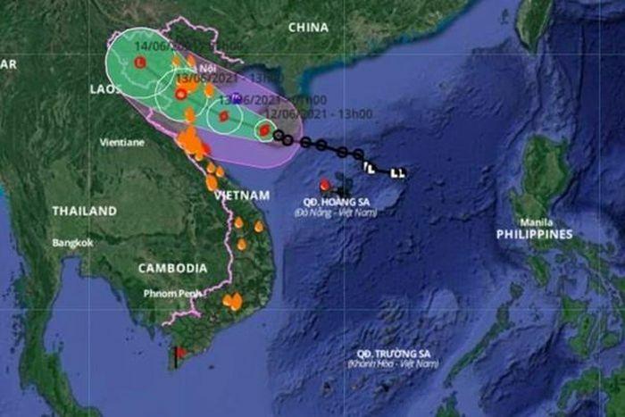 Nghệ An ra công điện khẩn cấm tàu thuyền ra khơi trong bão số 2 - ảnh 1