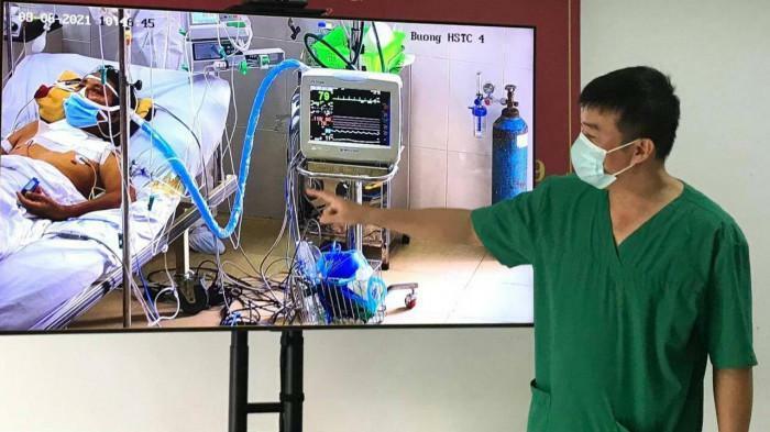 Bắc Giang: 4 bệnh nhân Covid-19 nặng đã phục hồi ngoạn mục - ảnh 1