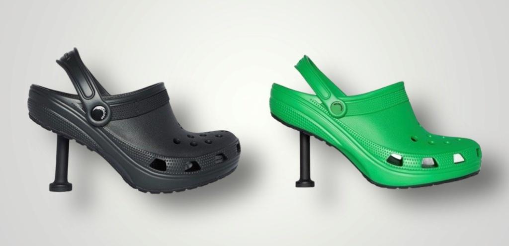Giày Crocs cao gót mới ra mắt bị chê xấu - ảnh 1