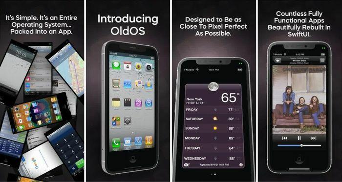 Nhà phát triển 18 tuổi hồi sinh iOS 4 dưới dạng ứng dụng độc lập, có thể chạy trên mọi chiếc iPhone đời mới