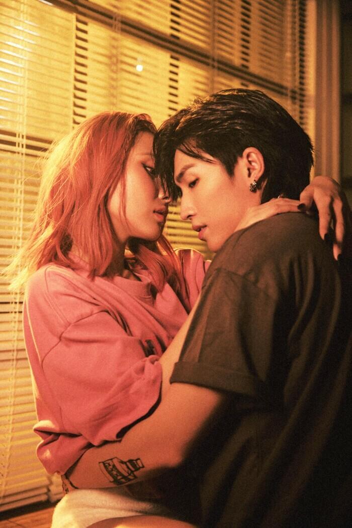 Fan ''phát sốt'' khoảnh khắc Annie (Lip B) ''khoá môi'' Cody (Uni5): Cặp đôi mới của Vpop đây sao? - ảnh 1