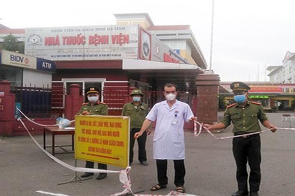 Dỡ bỏ phong tỏa Bệnh viện tỉnh Hà Tĩnh từ sáng nay - ảnh 1