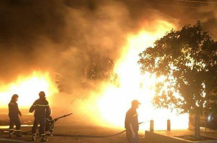 Điều tra vụ cháy lớn tại công ty sản xuất nhựa bao bì