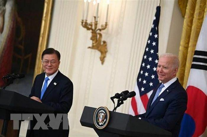 Hàn Quốc, Mỹ nhất trí mở rộng hợp tác về tăng cường chuỗi cung ứng - ảnh 1