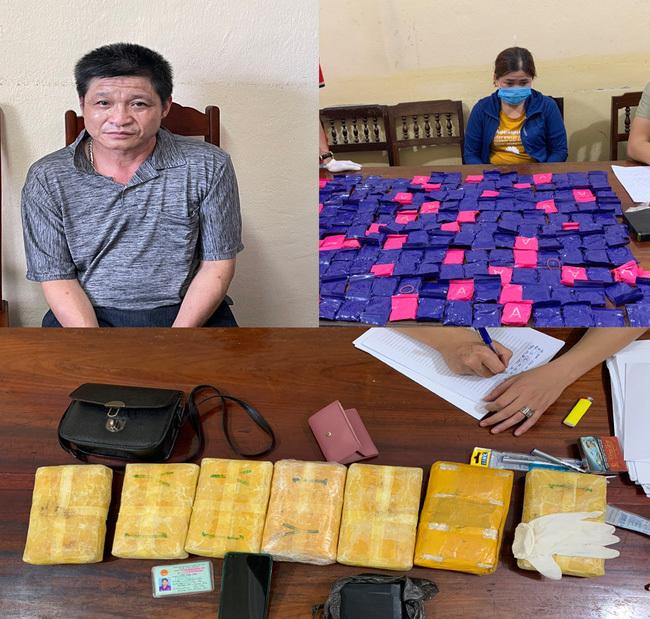 Thanh Hóa bắt giữ 2 đối tượng cùng 42.000 viên hồng phiến - ảnh 1