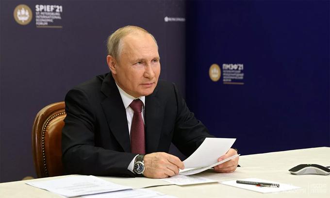 Putin muốn cải thiện quan hệ Nga – Mỹ