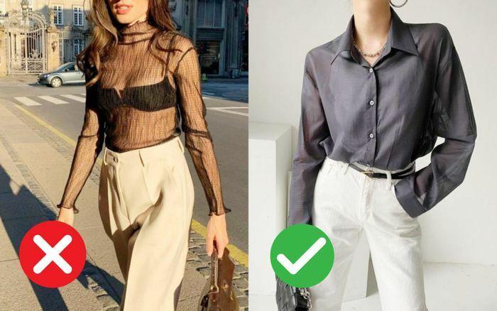Dù đẹp đến mấy cũng xin các chị em đừng mặc kiểu áo này đi làm! - ảnh 1