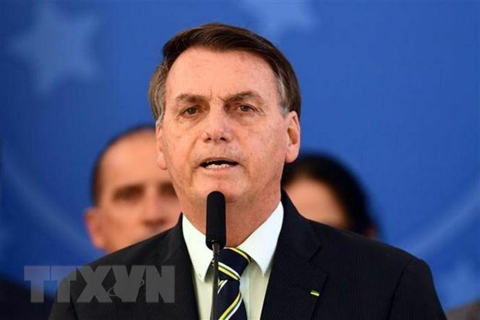 Tổng thống Brazil bị phạt do vi phạm quy định sử dụng khẩu trang nơi công cộng