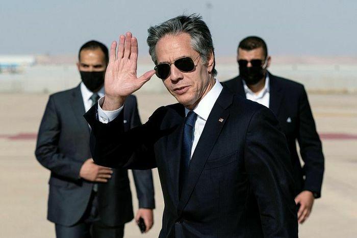 """Xung đột Israel-Palestine: Ngoại trưởng Mỹ và sứ mệnh """"ngoại giao con thoi"""" ở Trung Đông"""