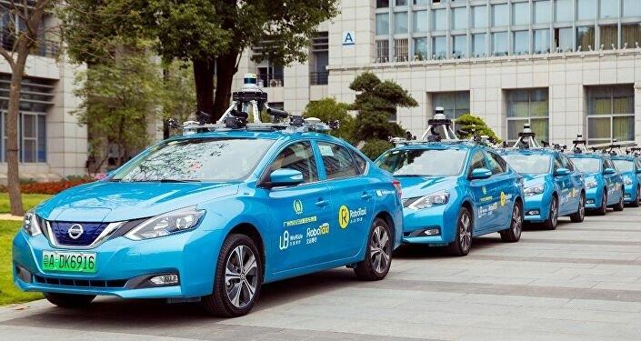 Taxi không người lái ở Trung Quốc bắt đầu chở khách - ảnh 1