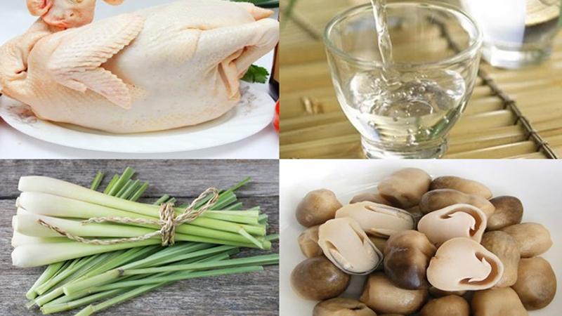 Cách làm gà hấp rượu thịt gà dai ngon đúng điệu
