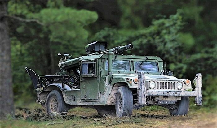 Mỹ tích hợp pháo cỡ lớn trên các phương tiện cơ động mặt đất - ảnh 1