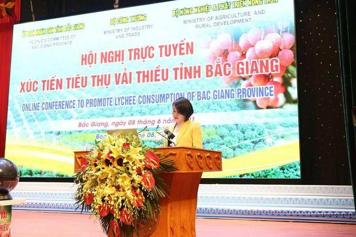 Hệ thống siêu thị Vinmart sẽ nhập khoảng 2.000 tấn vải thiều Bắc Giang