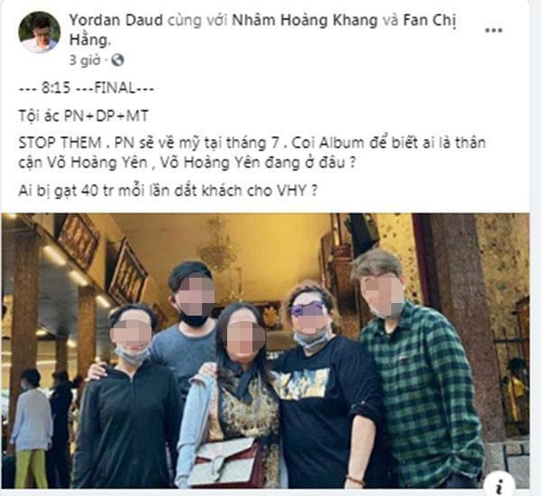 Hacker tiết lộ tháng 7 Phi Nhung về Mỹ: 'Ai thân cận Võ Hoàng Yên?' - ảnh 1