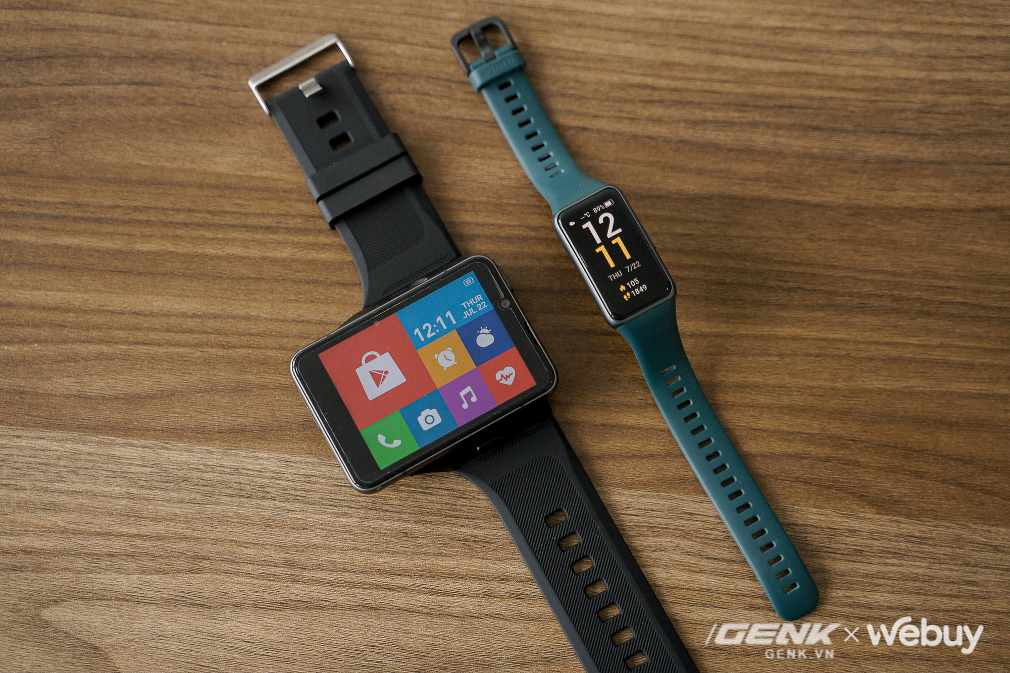 """Trên tay Lokmat Appllp Max: Smartwatch """"siêu to khổng lồ"""" chạy Android, có 4G, cấu hình """"ngon"""", đánh game phà phà - ảnh 1"""