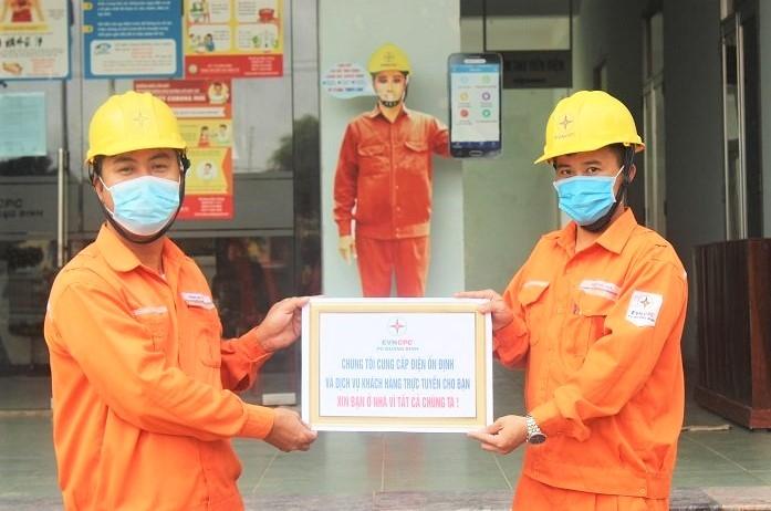 Ngành điện Quảng Bình: Quyết liệt triển khai các biện pháp phòng chống dịch bệnh Covid-19 - ảnh 1