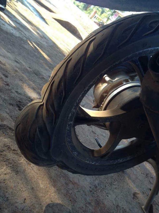 Cần lưu ý gì khi bơm lốp xe máy để di chuyển trong thời tiết nắng nóng? - ảnh 1