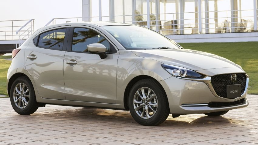 Mazda 2 2021 bản nâng cấp được giới thiệu tại Nhật Bản